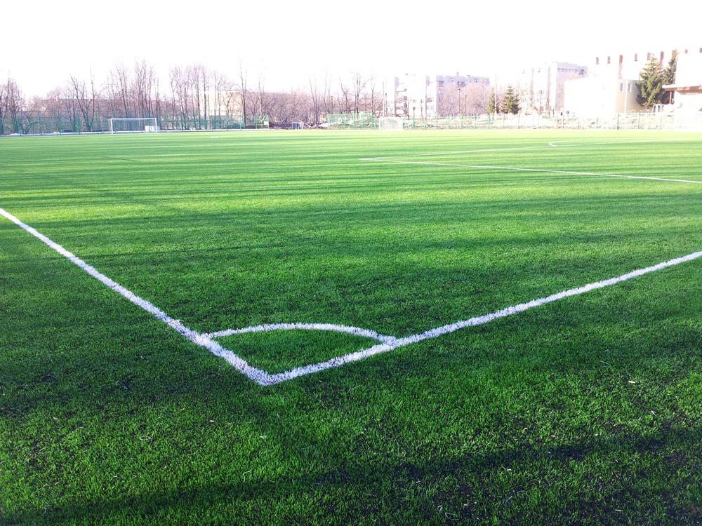 Строительство футбольного поля с натуральным газоном 2