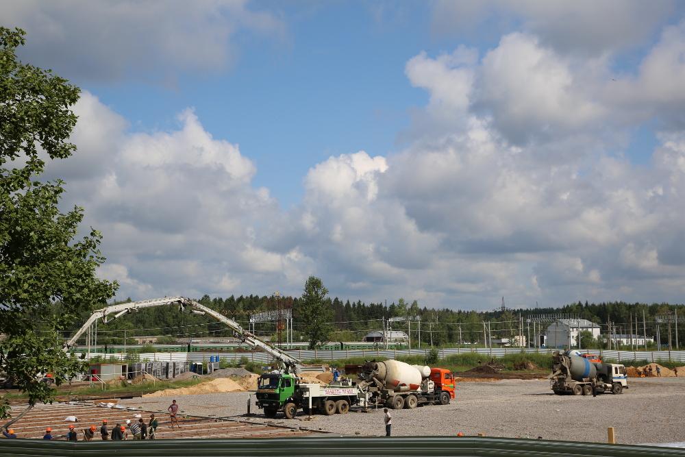 Строительство футбольных полей 1