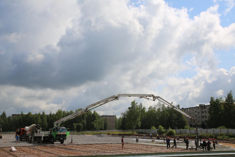 Строительство футбольных полей 3