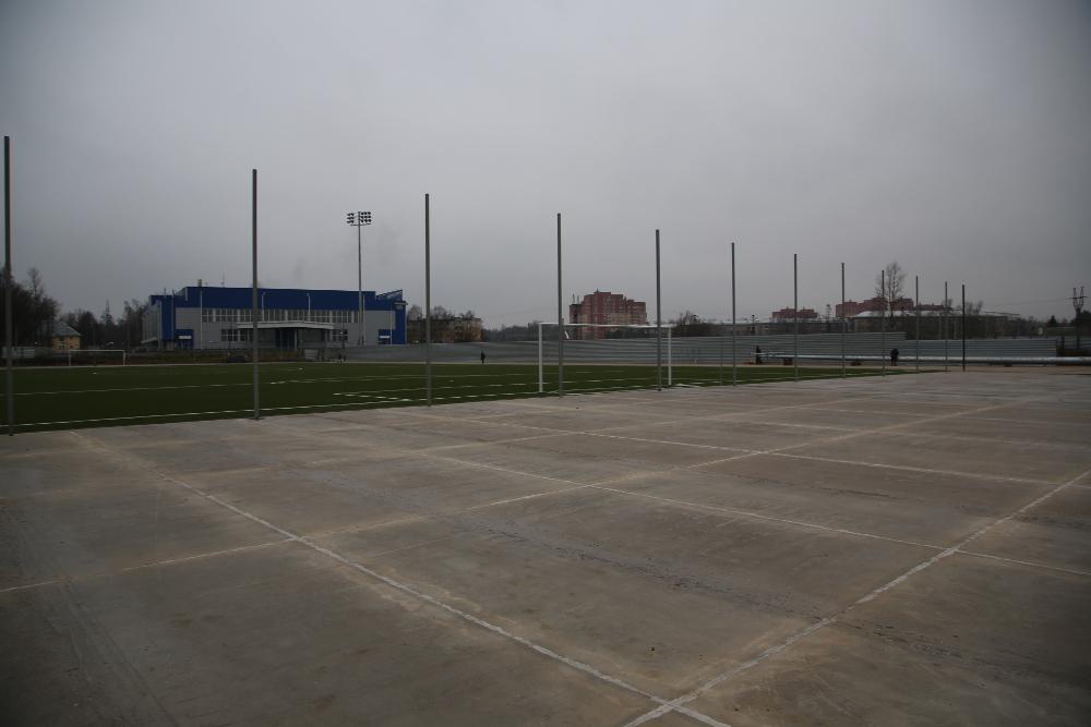 Строительство футбольных полей 4
