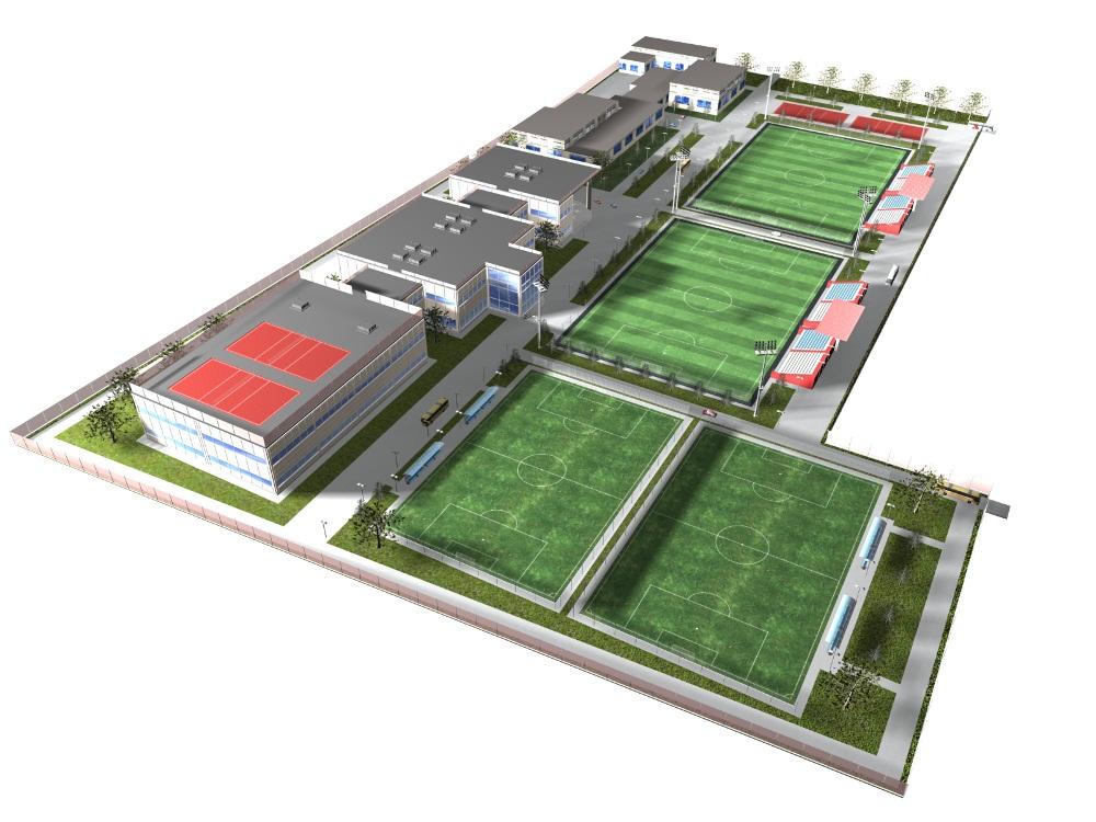 Проектирование стадионов 3