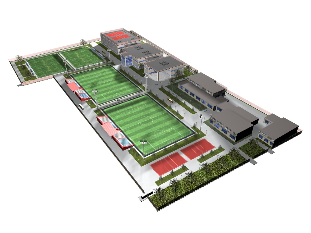 Проектирование стадионов 4