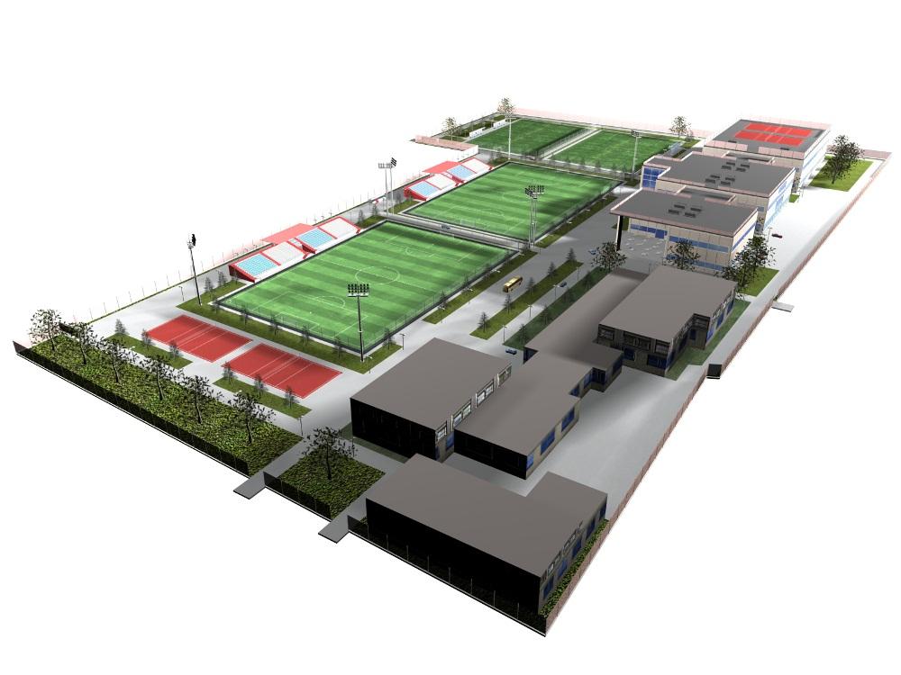 Проектирование стадионов 5