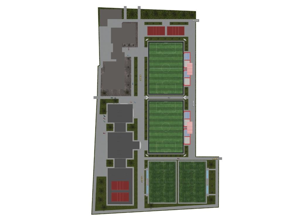Проектирование стадионов 6