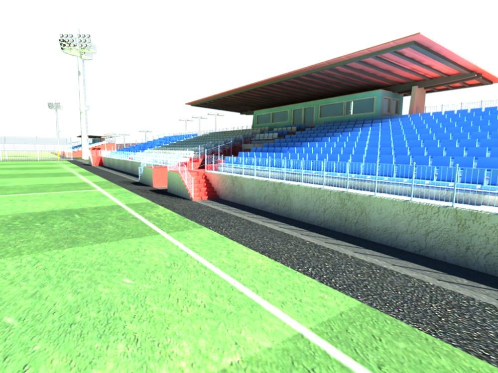 Проектирование стадионов 8