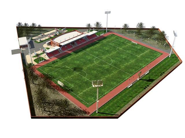 Проектирование спортивных сооружений