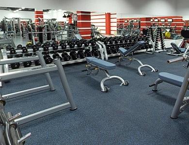 Тренажерные залы - зона свободных весов